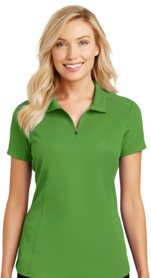 #L580B – Port Authority Ladies Pinpoint Mesh Polo Item