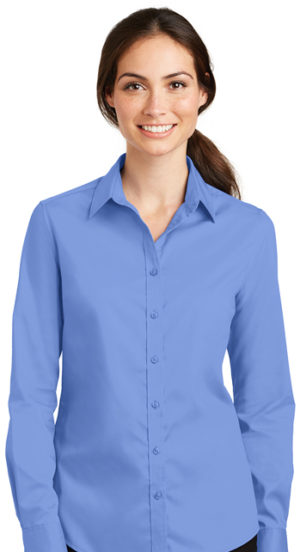 #L663 – Port Authority Ladies SuperPro Twill Shirt
