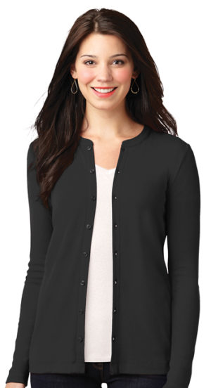 #LM1008 – Ladies Stretch Button Front cardigan