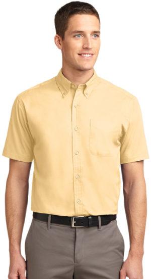 #S508 – Men's Short Sleeve Easy Care Twill