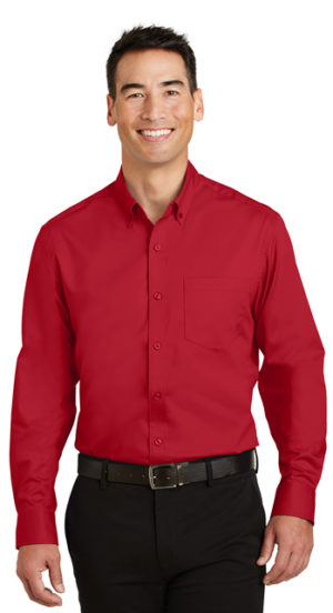 #S663 – Port Authority SuperPro Twill Shirt