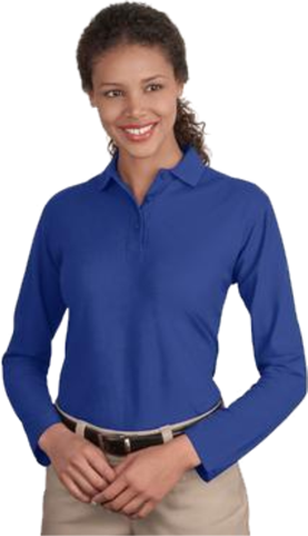 #L500LS – Ladies Long Sleeve Polo