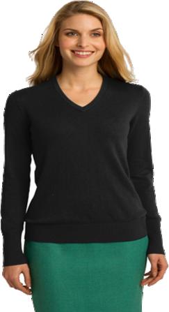 #LSW285 – Port Authority Ladies V-Neck Sweater