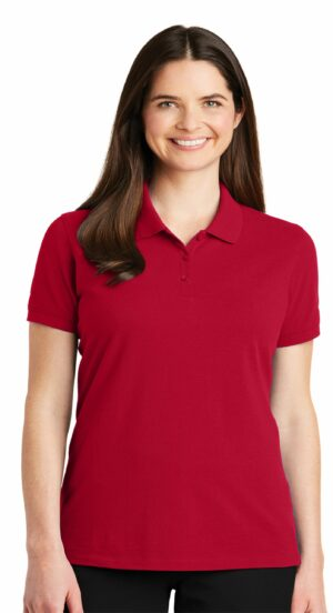 #LK8000 – Ladies Port Authority EZ Cotton Polo